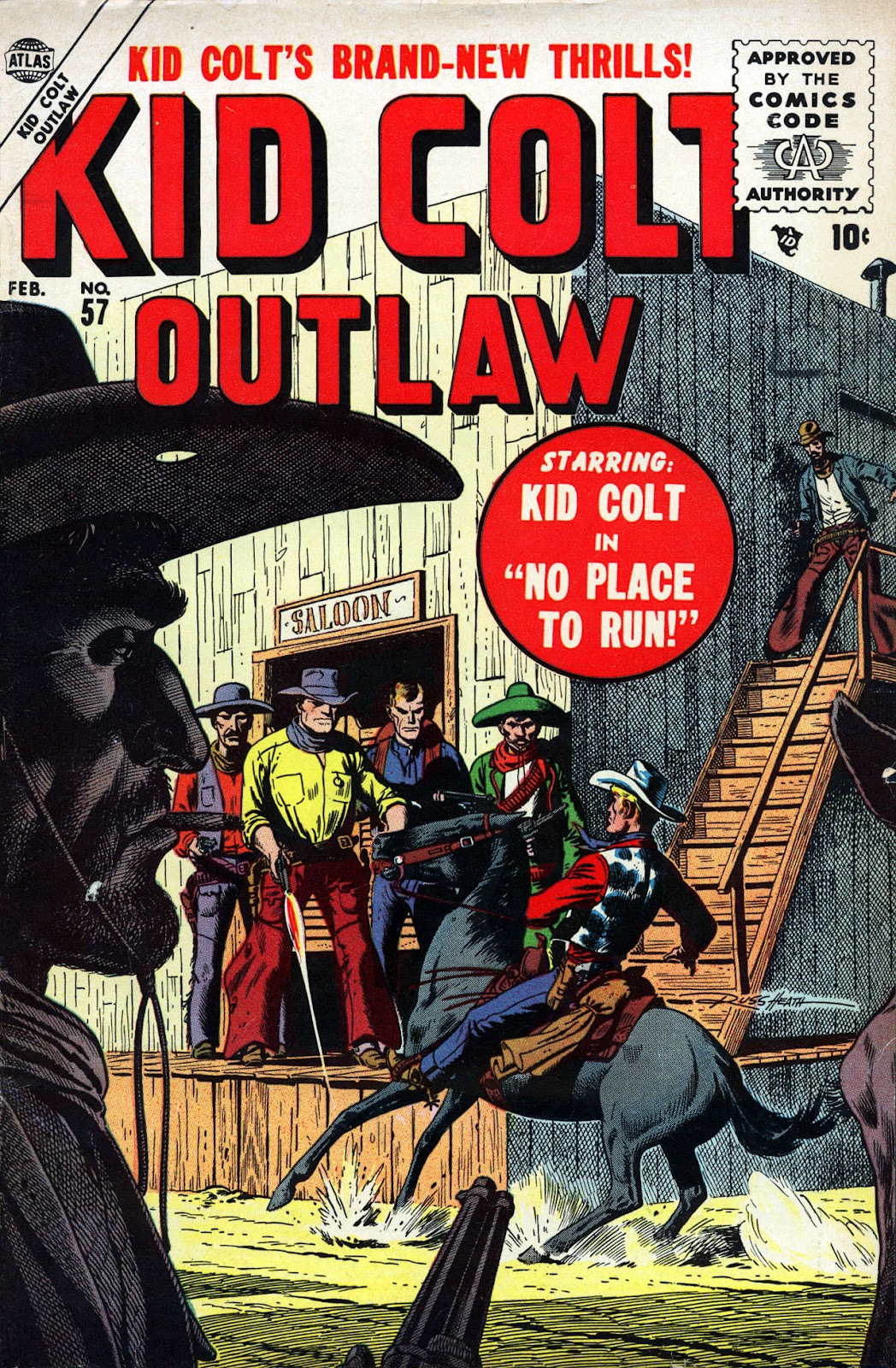 Kid Colt Outlaw issue 57 - Page 1