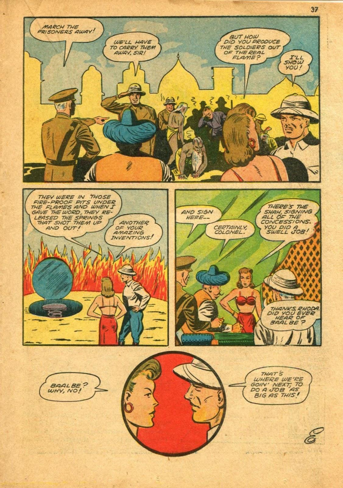Read online Super-Magician Comics comic -  Issue #11 - 37