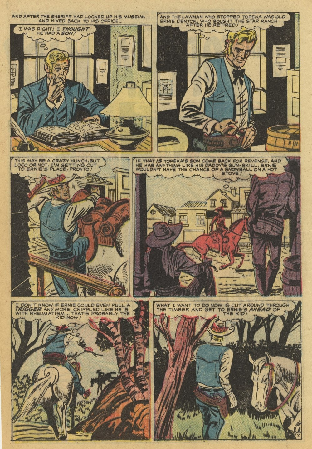 Kid Colt Outlaw issue 82 - Page 12