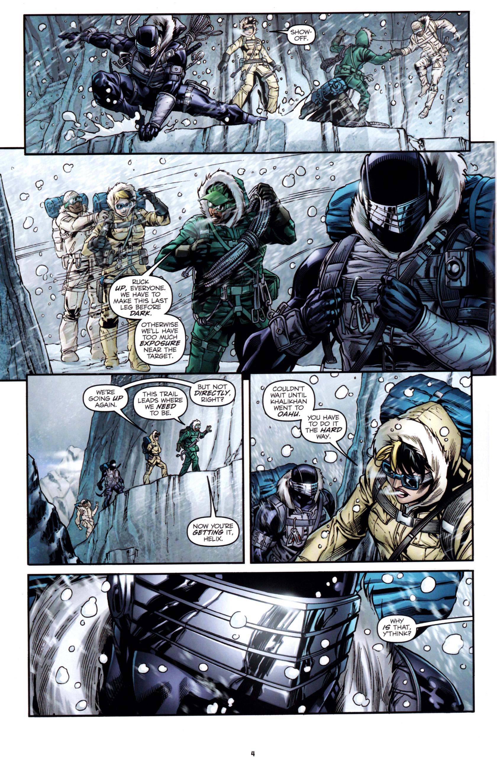 Read online G.I. Joe: Snake Eyes comic -  Issue #1 - 7