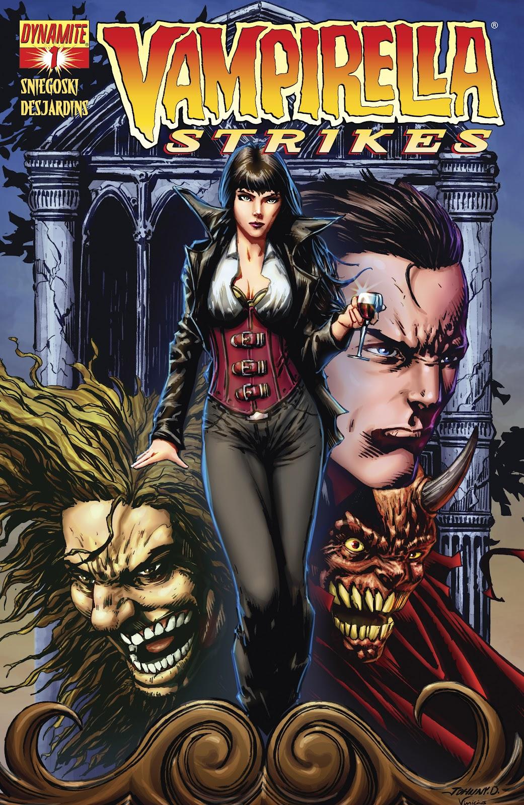 Read online Vampirella Strikes comic -  Issue #1 - 4