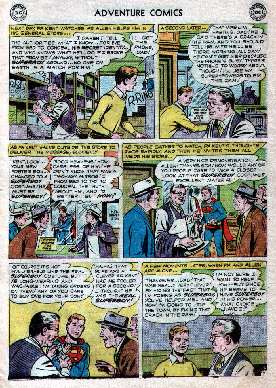 Read online Adventure Comics (1938) comic -  Issue #260 - 9
