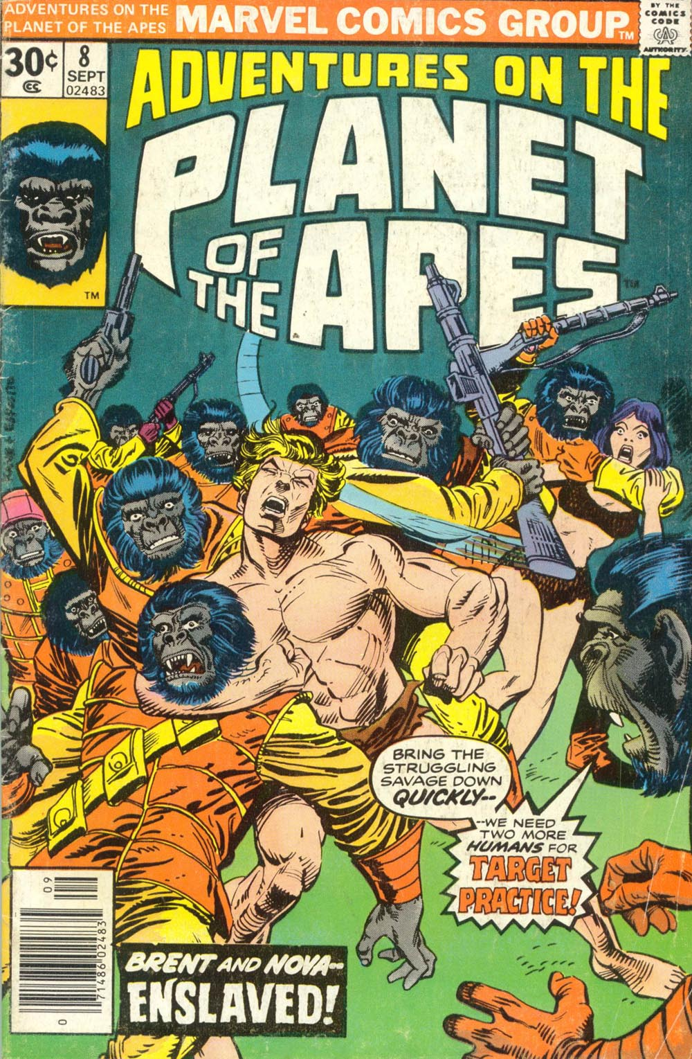 Adventures on the Planet of the Apes 8 Page 1