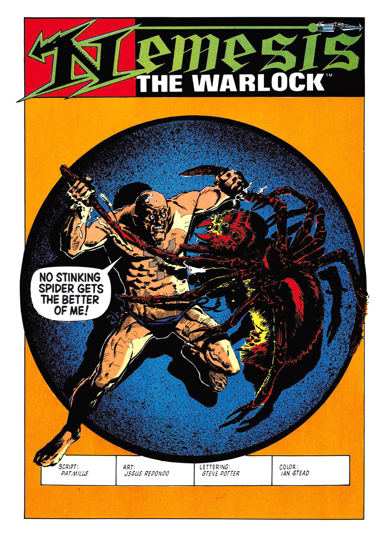 Read online Nemesis The Warlock comic -  Issue # TPB Deviant Edition - 100