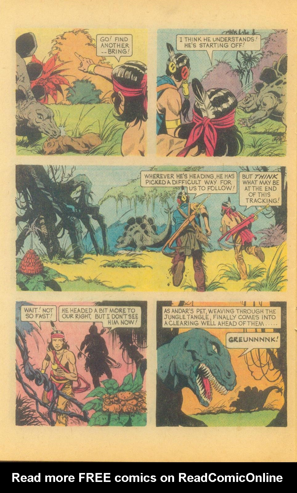 Read online Turok, Son of Stone comic -  Issue #89 - 28