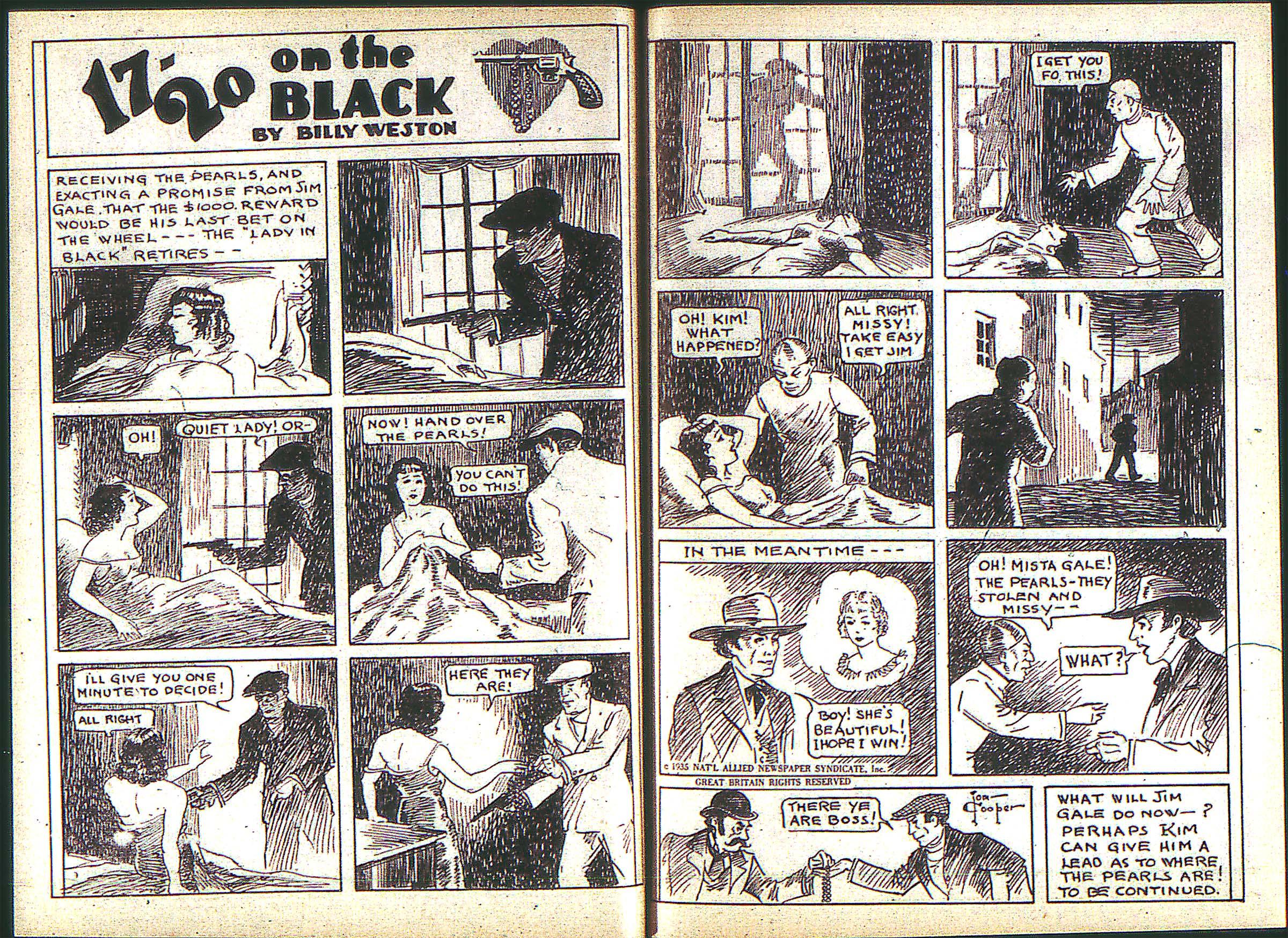 Read online Adventure Comics (1938) comic -  Issue #2 - 27