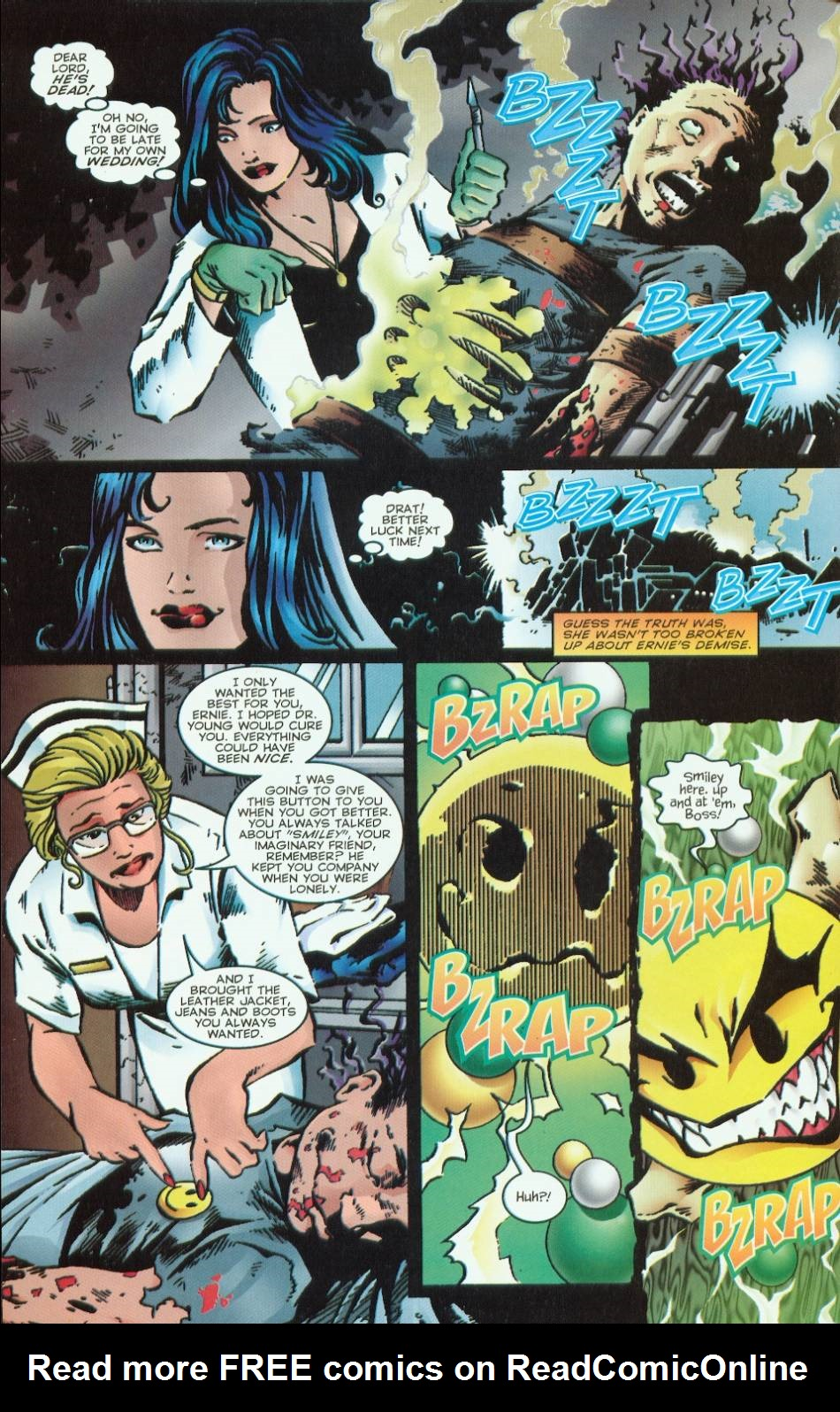 Read online Evil Ernie vs. the Superheroes comic -  Issue #1 - 10
