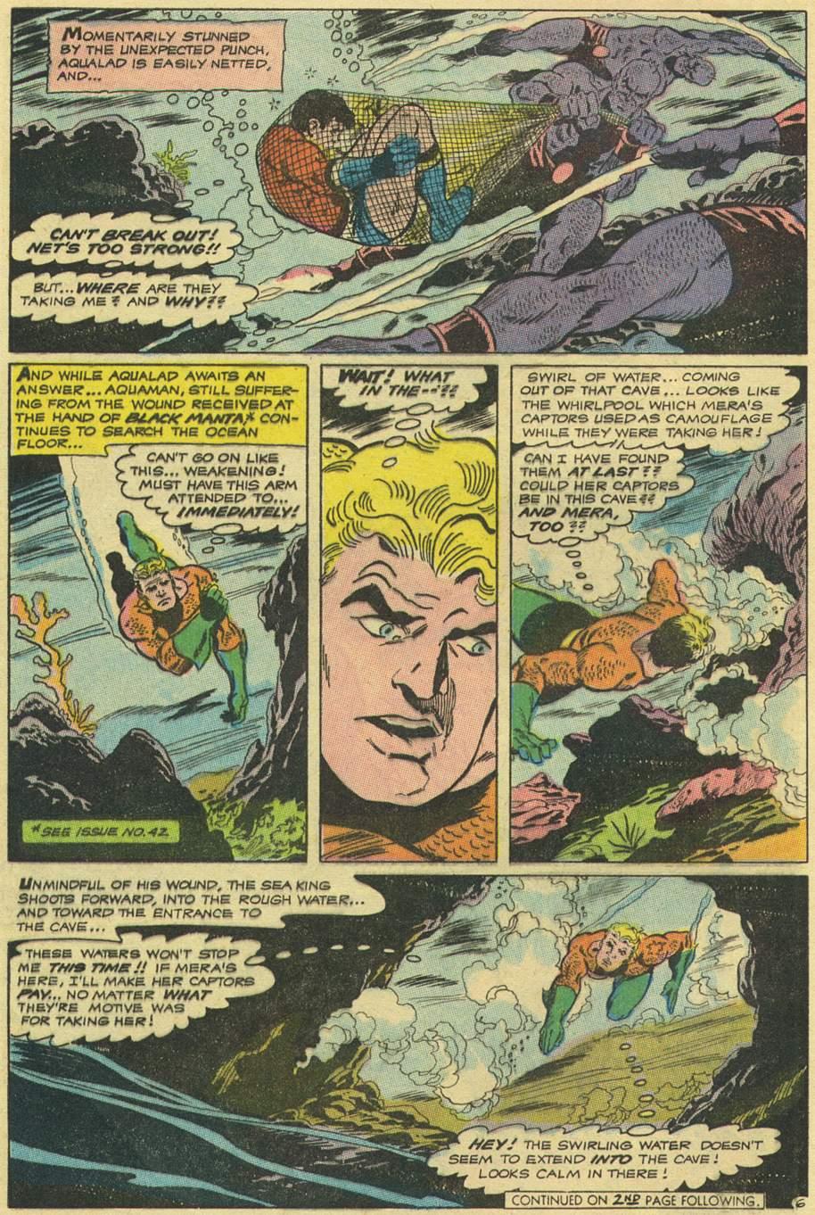 Read online Aquaman (1962) comic -  Issue #43 - 8