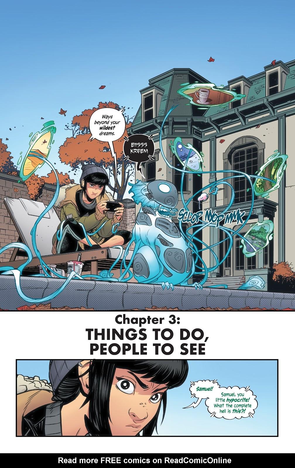 Read online Alienated comic -  Issue #3 - 4
