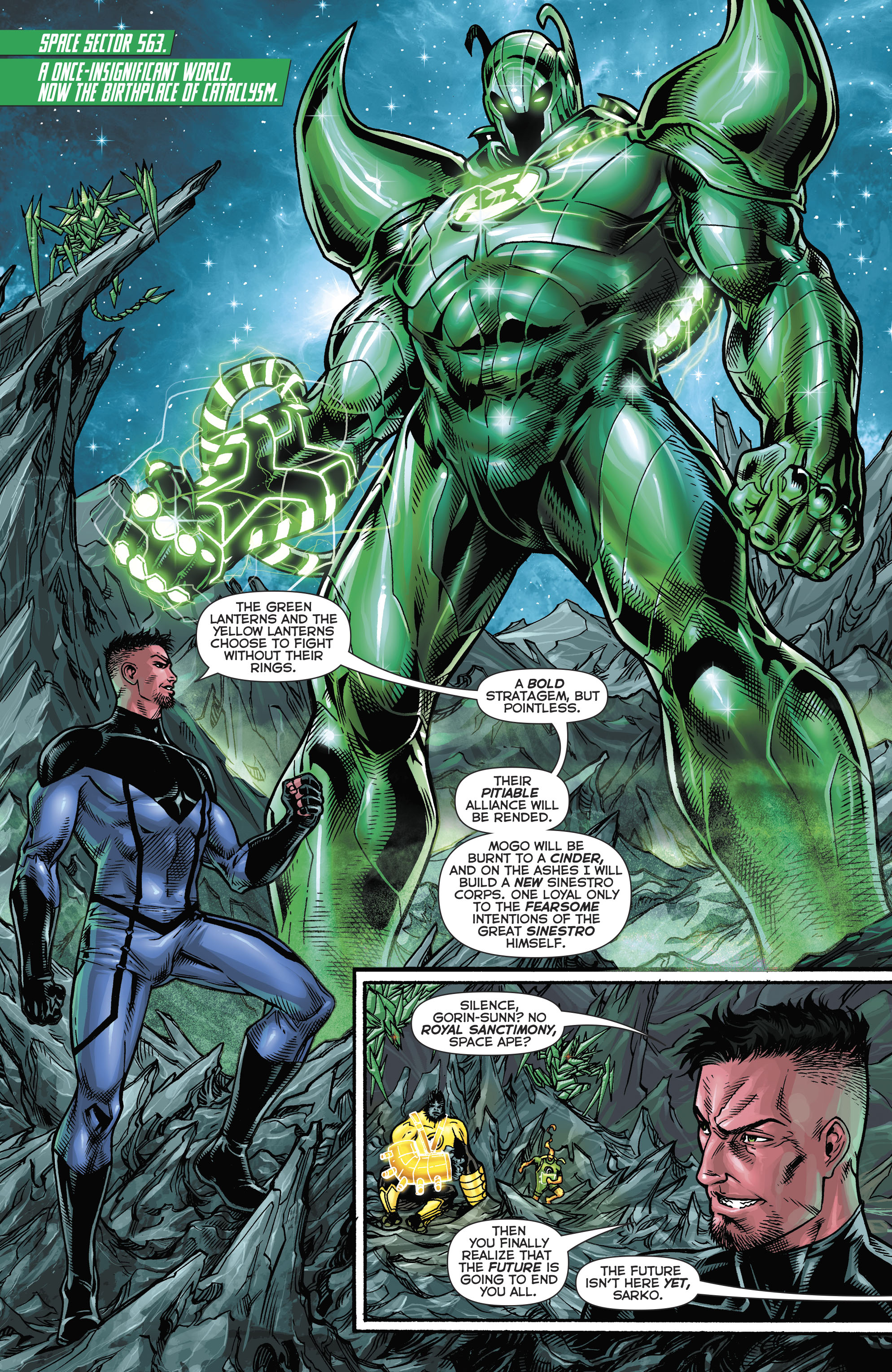 Read online Hal Jordan And The Green Lantern Corps comic -  Issue #21 - 9