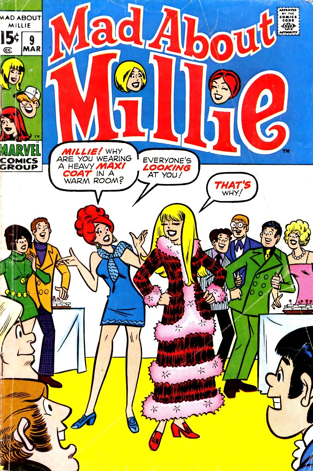 Mad About Millie issue 9 - Page 1