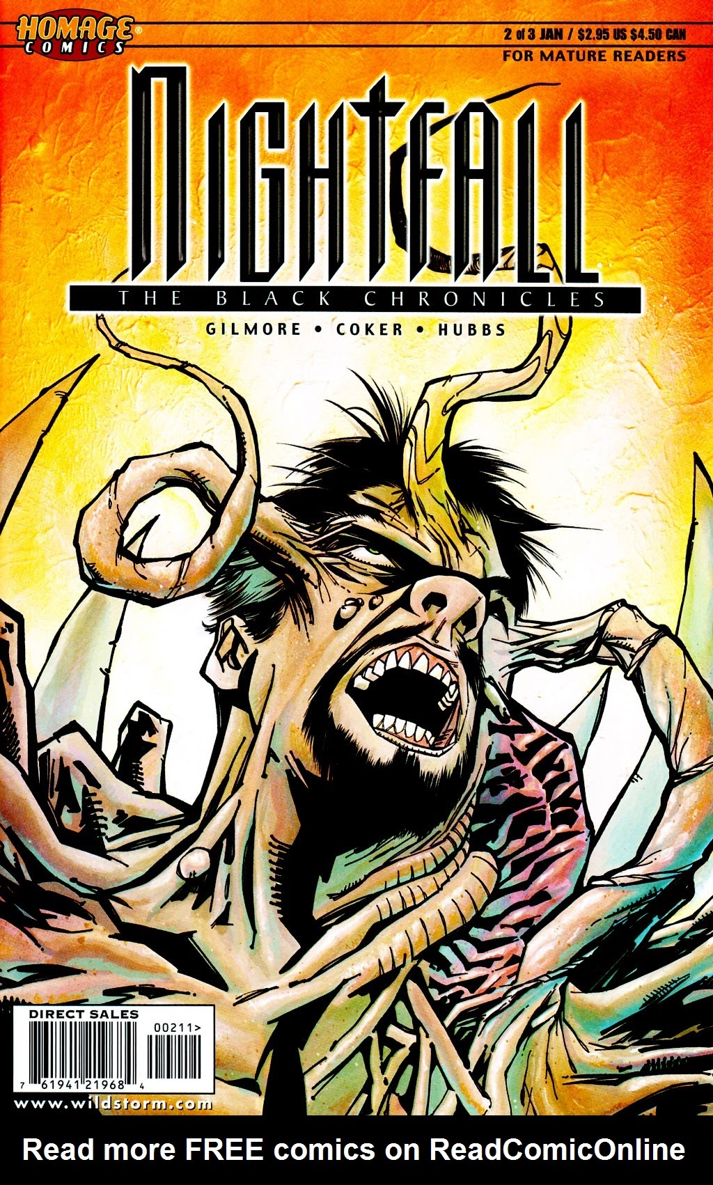 Nightfall: The Black Chronicles 2 Page 1