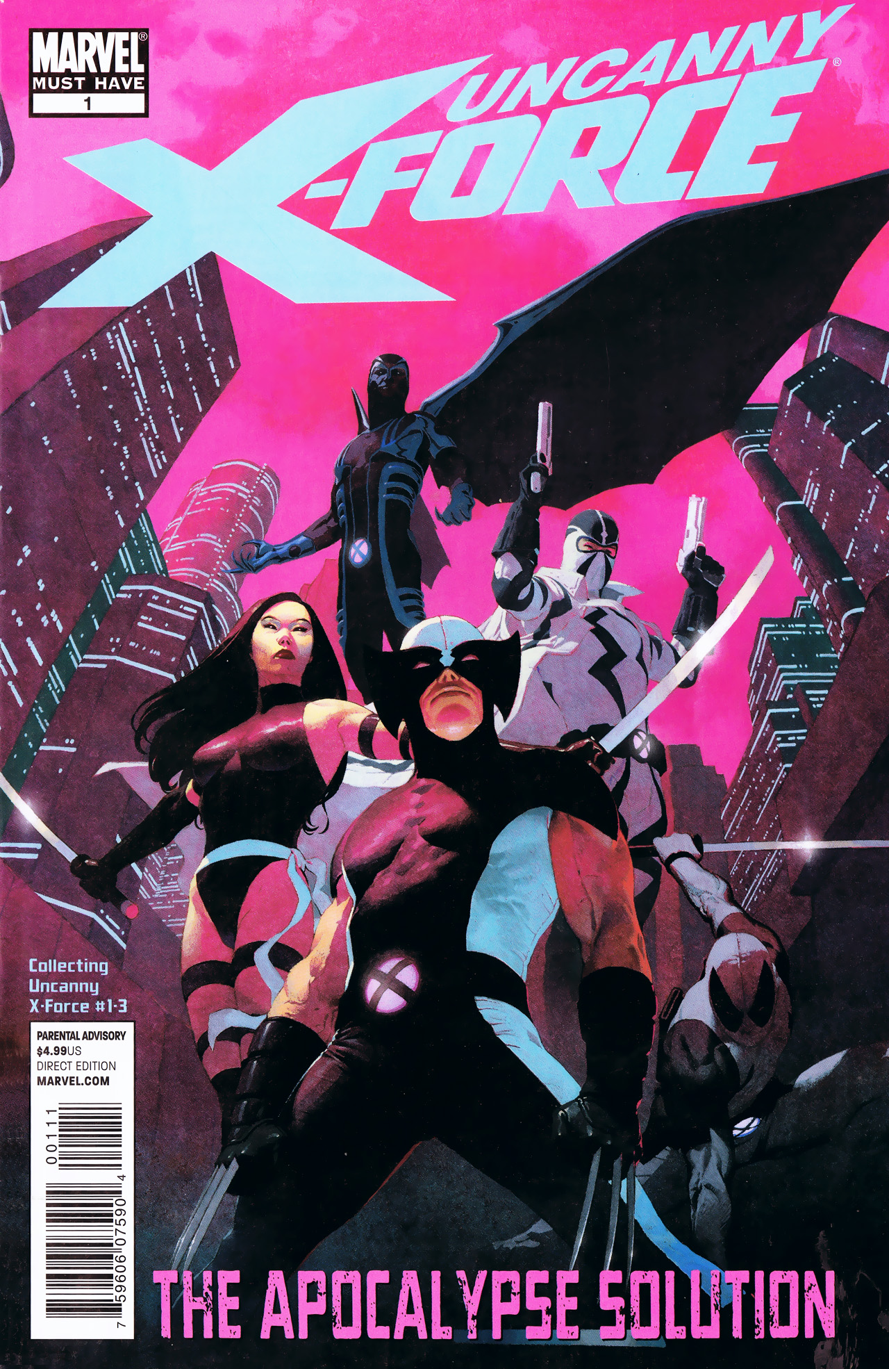Read online Uncanny X-Force: The Apocalypse Solution comic -  Issue # Full - 1
