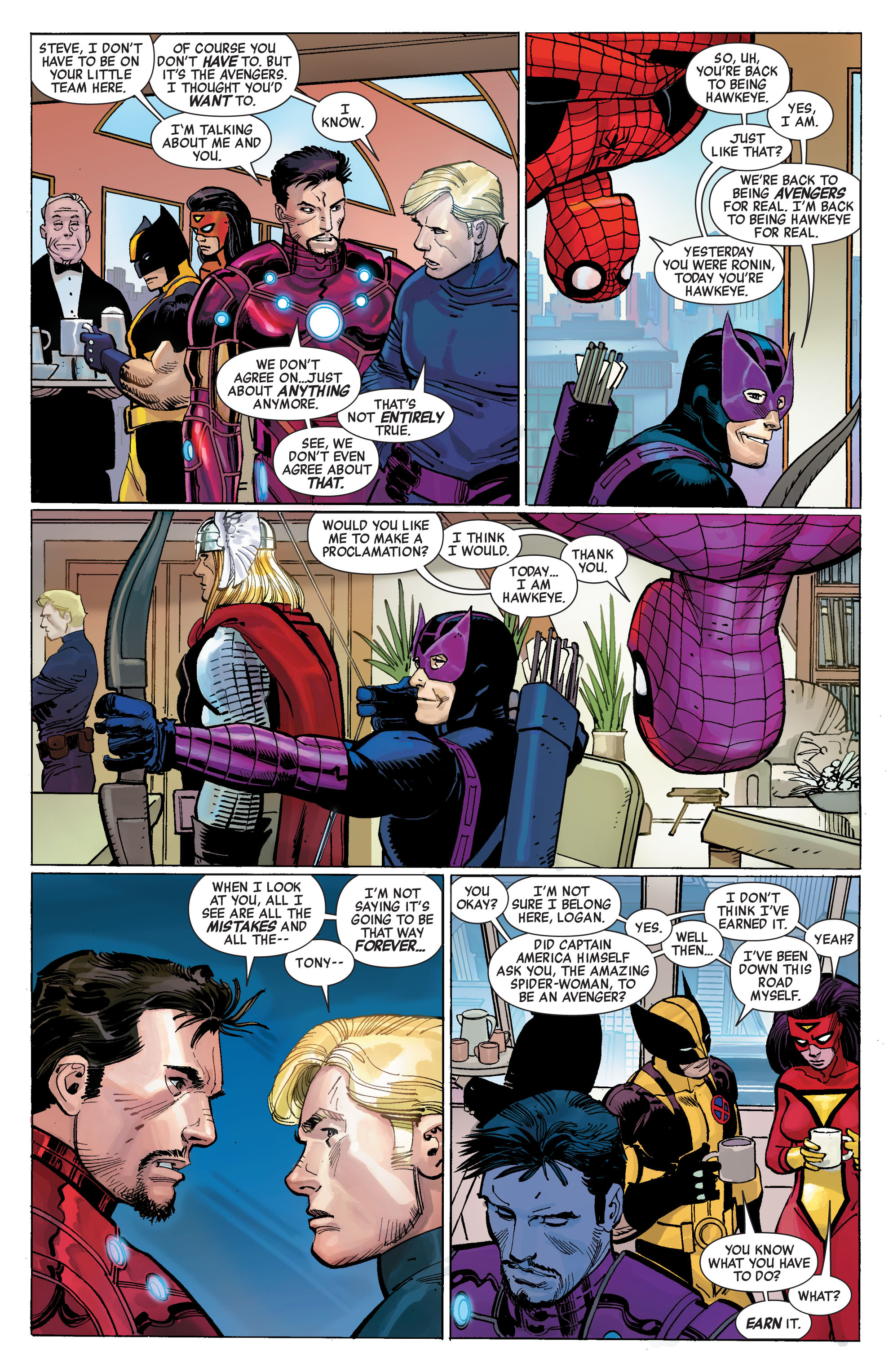 Read online Avengers (2010) comic -  Issue #1 - 8