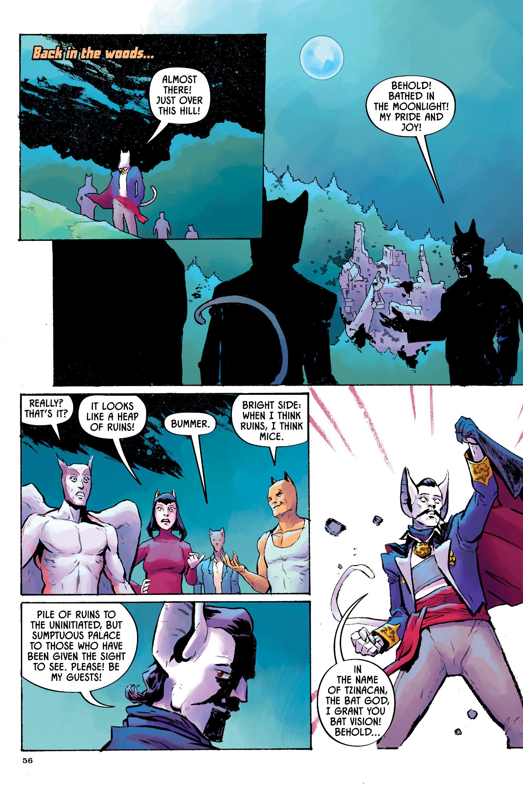 Read online Angel Catbird comic -  Issue # TPB 2 - 57