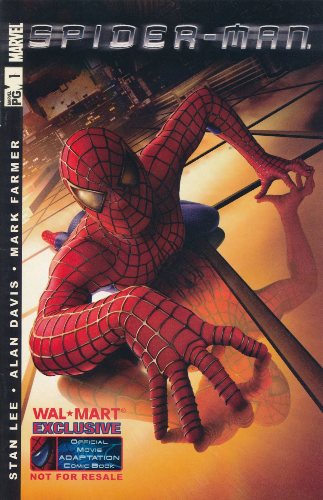 Spider-Man: The Official Movie Adaptation Full Page 1