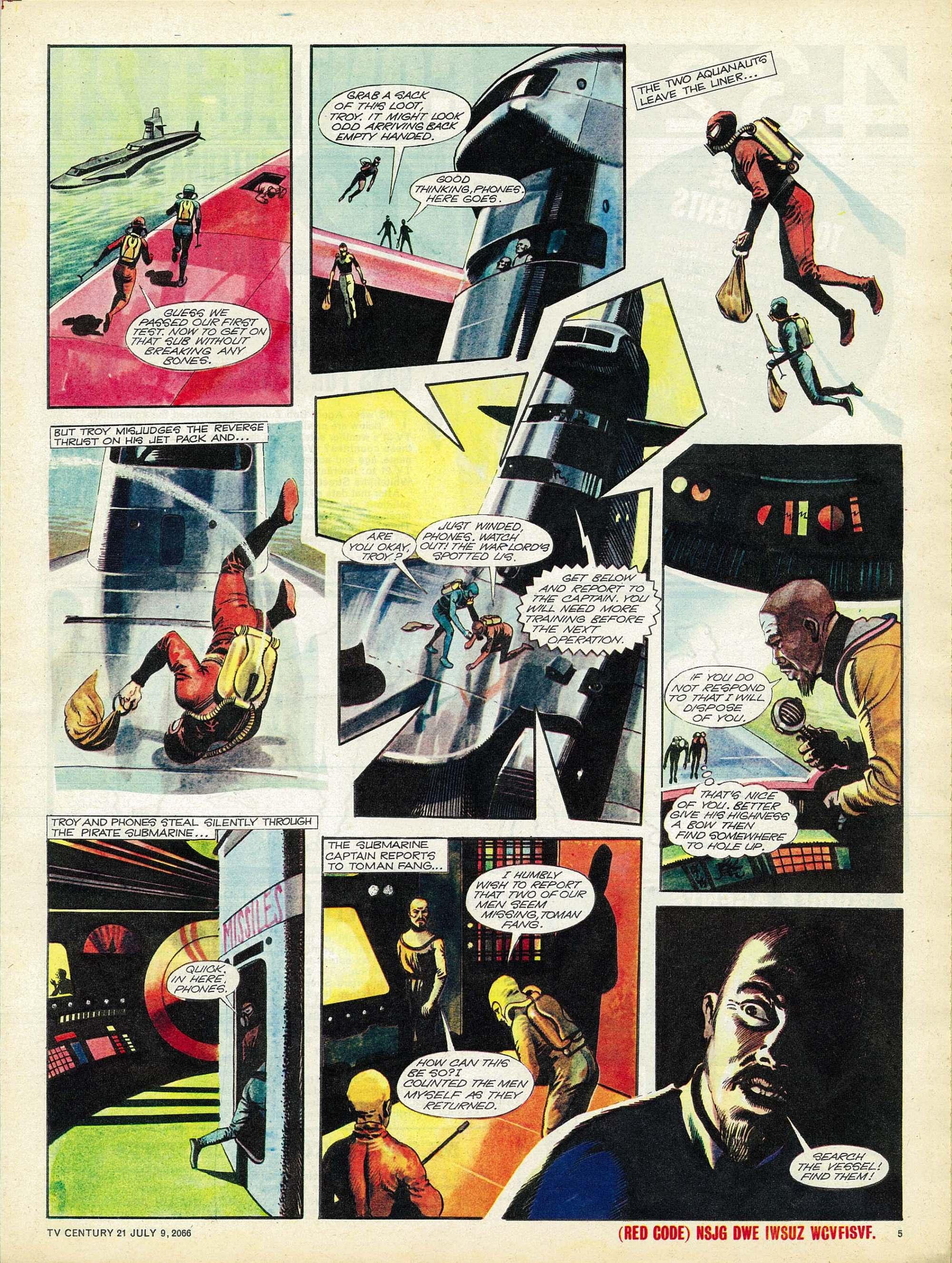 Read online TV Century 21 (TV 21) comic -  Issue #77 - 5