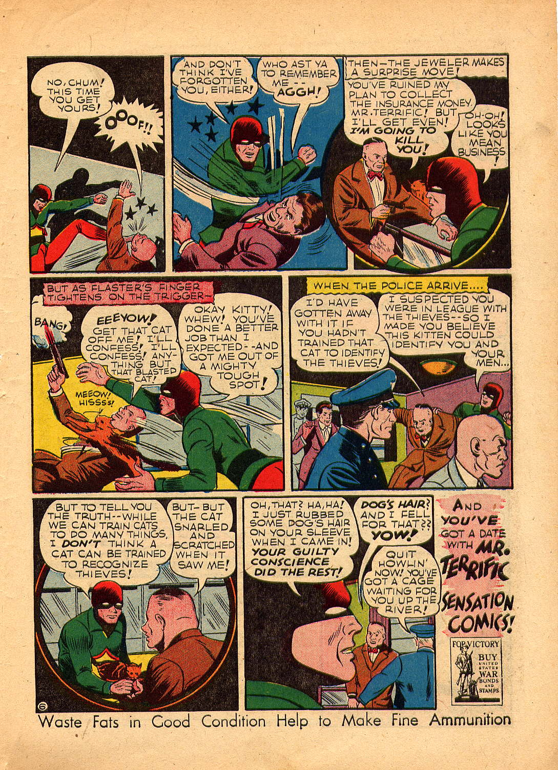 Read online Sensation (Mystery) Comics comic -  Issue #30 - 47