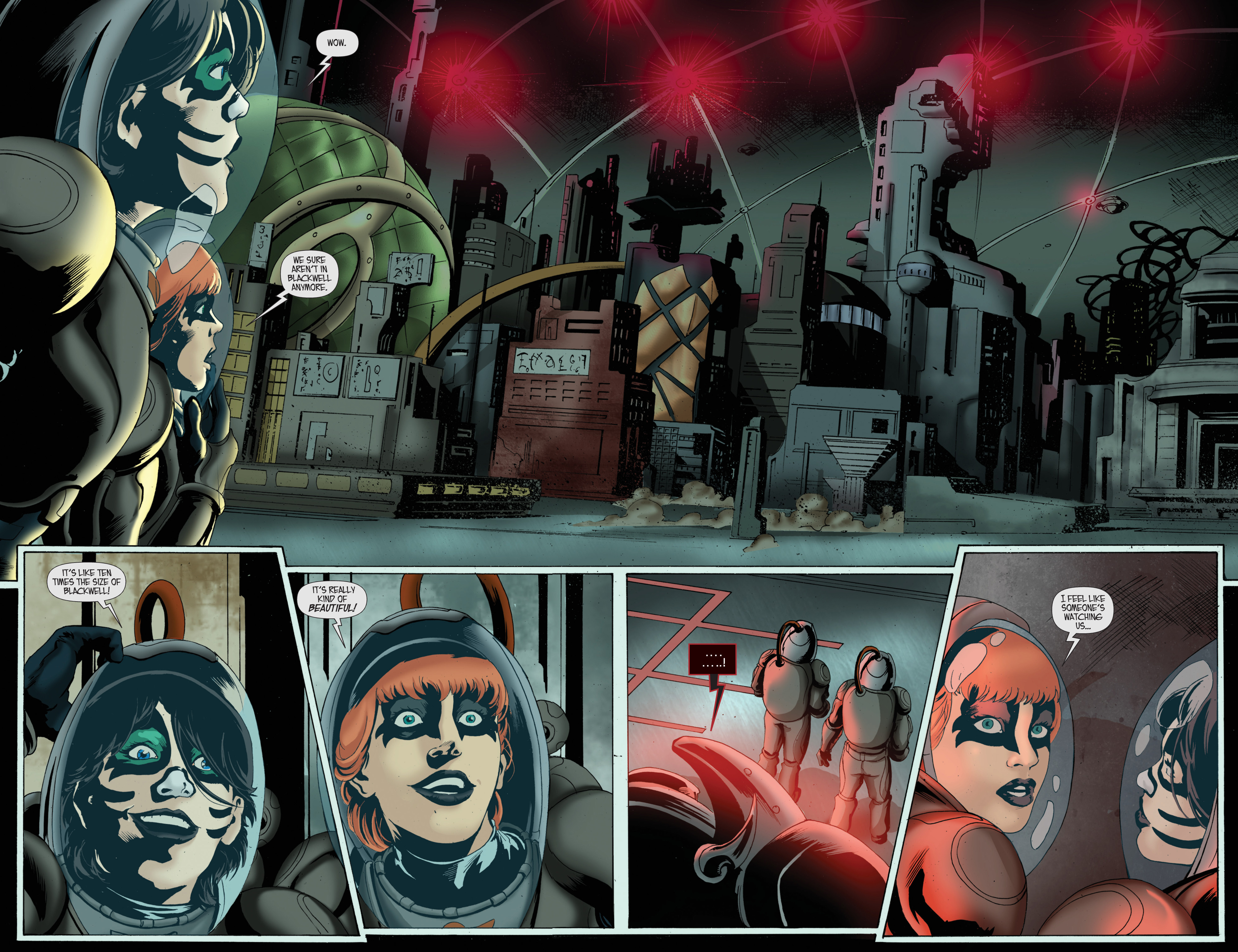 Read online KISS comic -  Issue #8 - 14