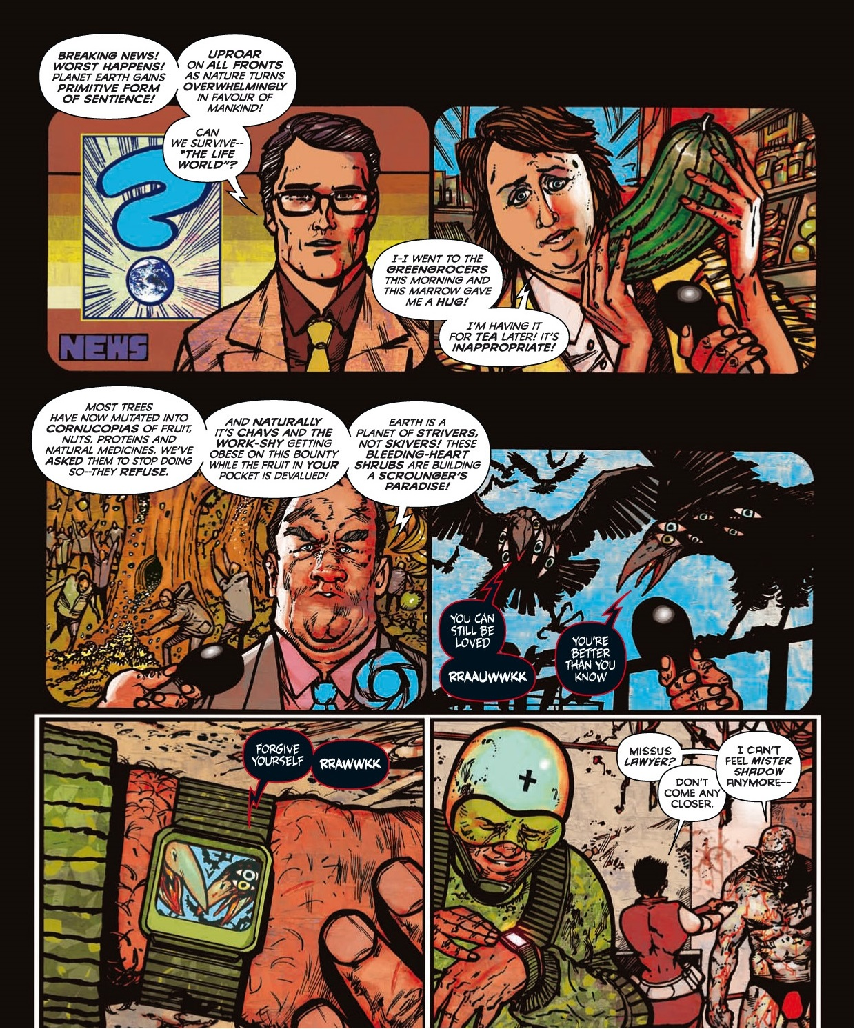 Read online 2000 AD comic -  Issue #1746 - 168