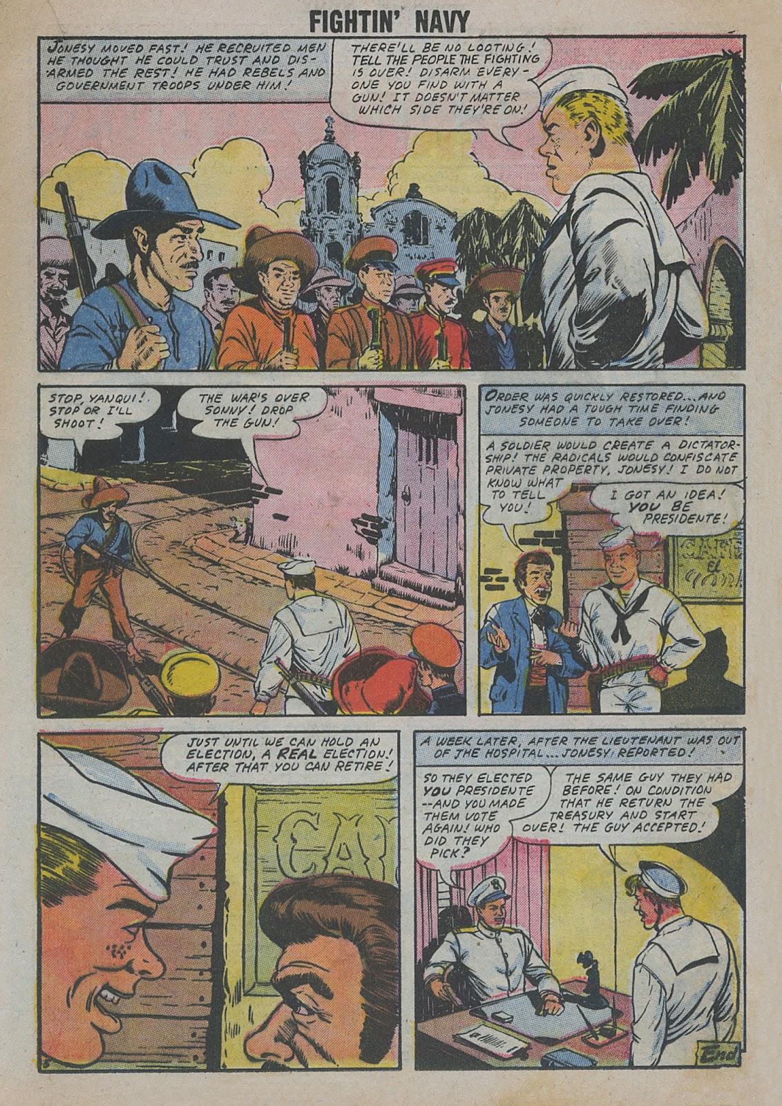 Read online Fightin' Navy comic -  Issue #82 - 33