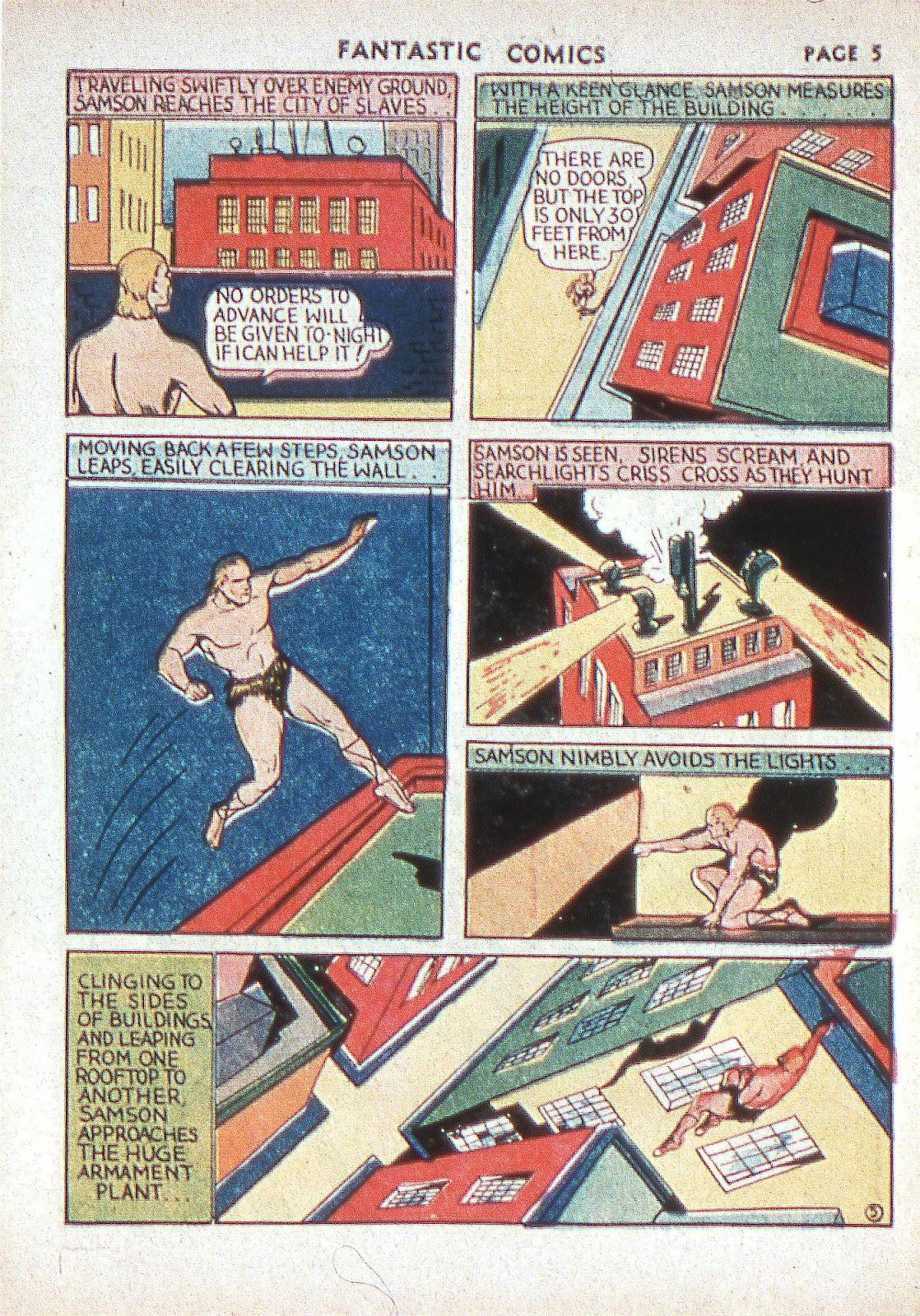 Read online Fantastic Comics comic -  Issue #2 - 7