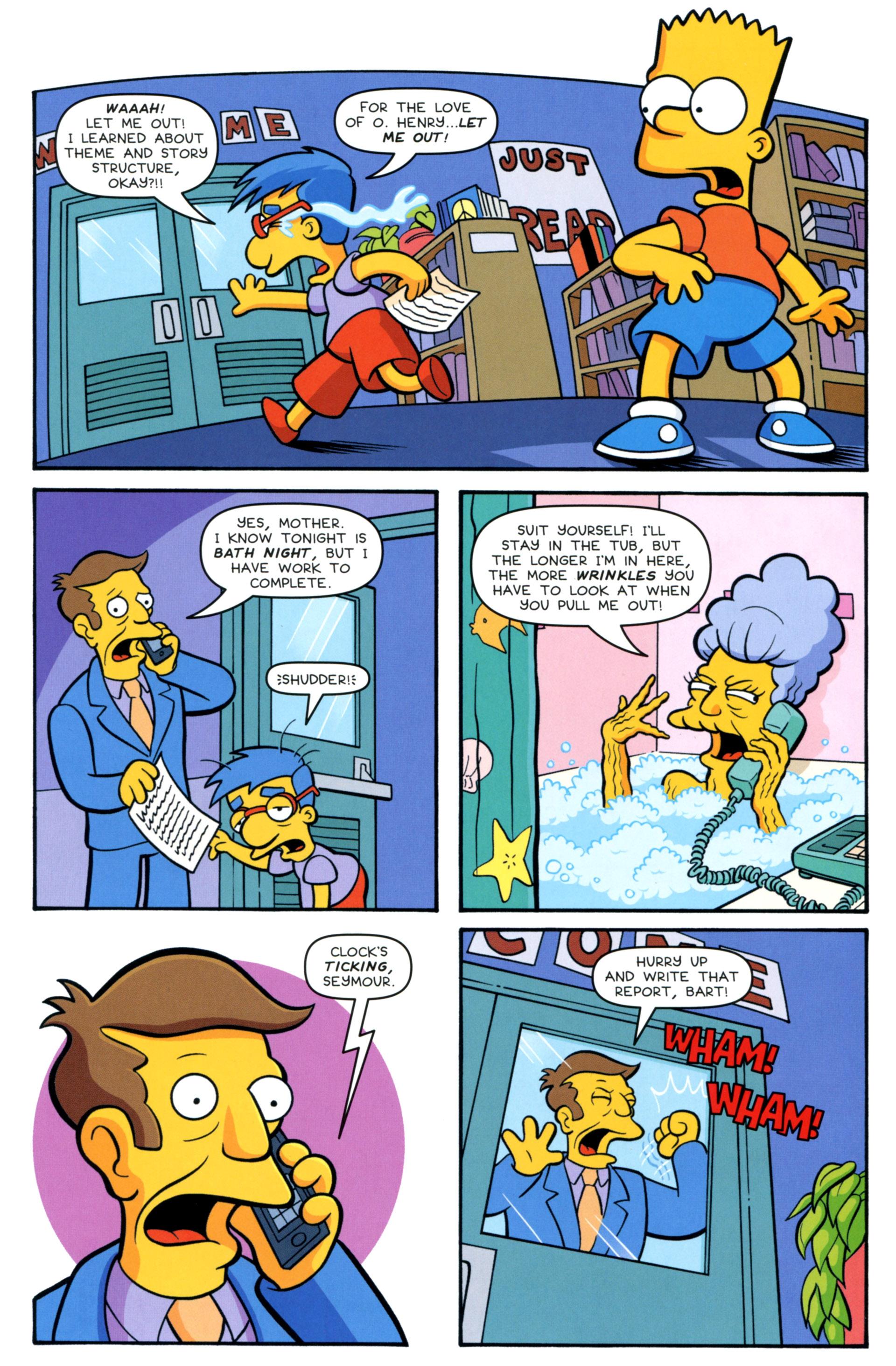 Read online Simpsons Comics Presents Bart Simpson comic -  Issue #83 - 21