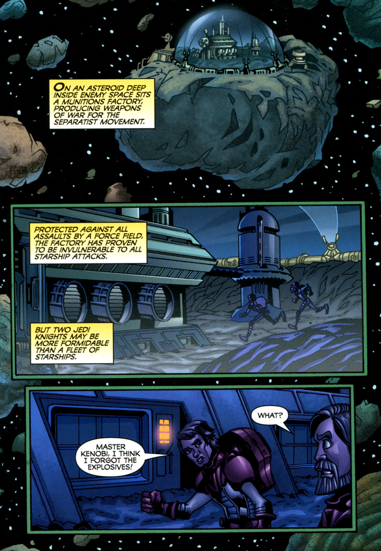 Read online Star Wars: The Clone Wars - The Starcrusher Trap comic -  Issue # Full - 6