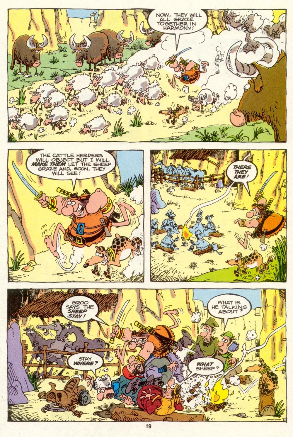 Read online Sergio Aragonés Groo the Wanderer comic -  Issue #88 - 20