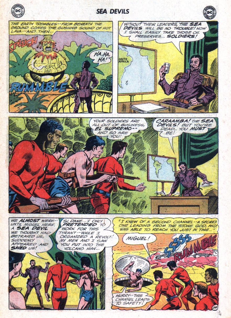Read online Sea Devils comic -  Issue #25 - 32