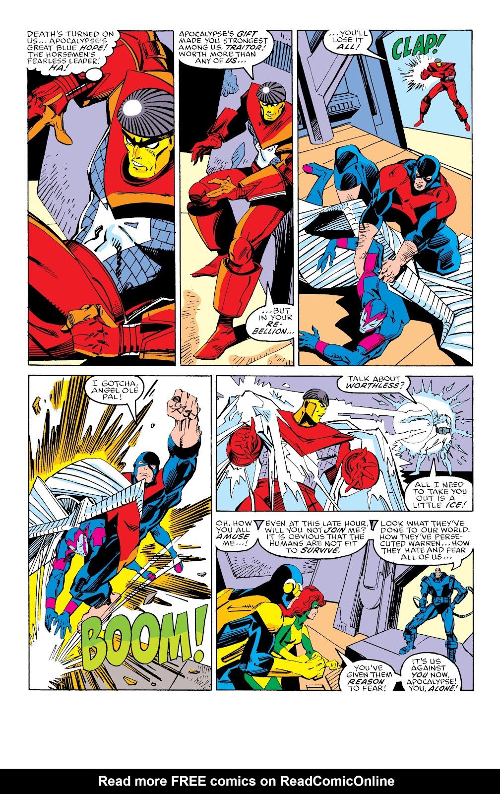 Read online X-Men Milestones: Fall of the Mutants comic -  Issue # TPB (Part 3) - 37