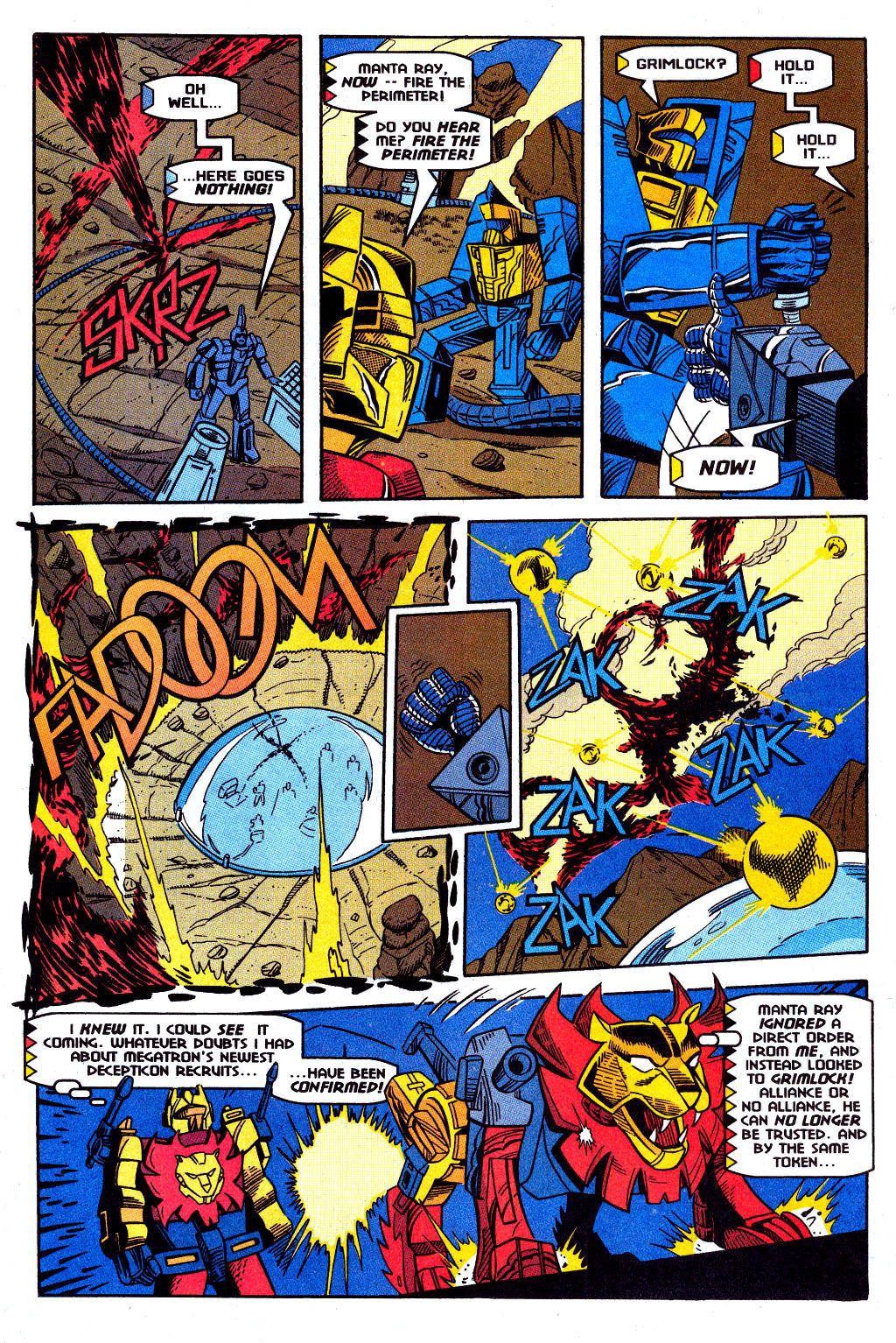 Read online Transformers: Generation 2 comic -  Issue #12 - 23