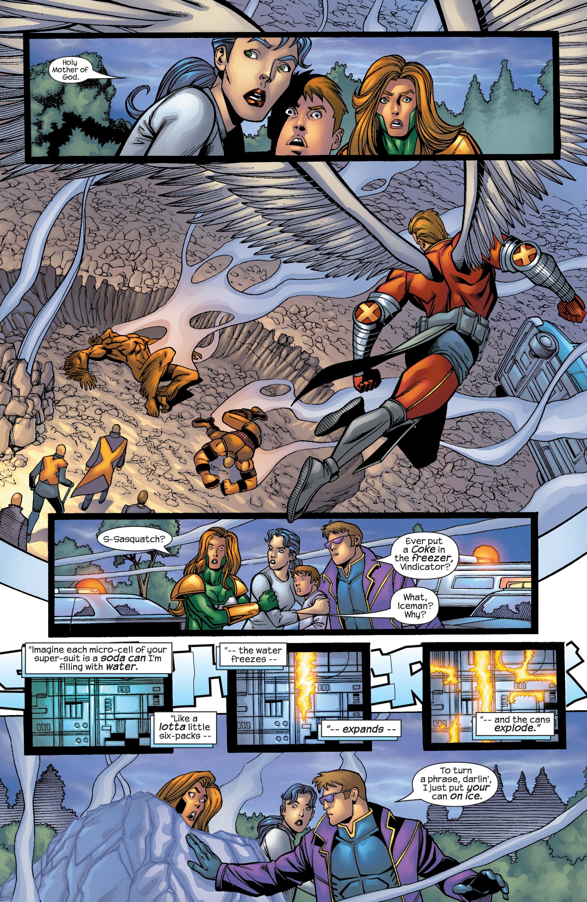 Read online Uncanny X-Men (1963) comic -  Issue #422 - 22