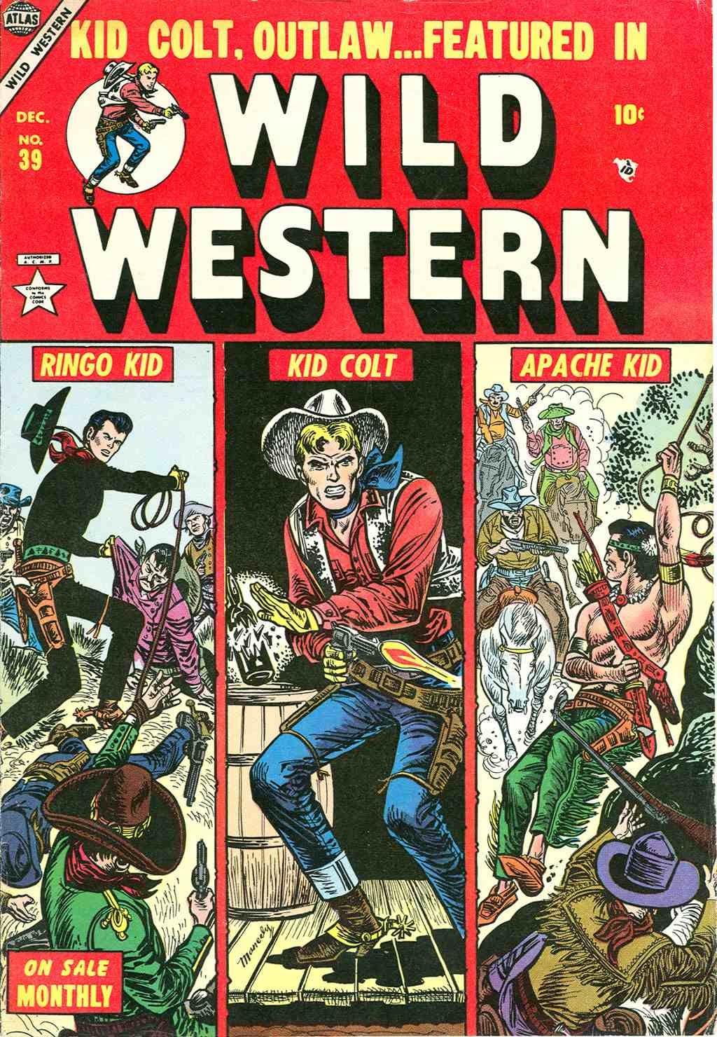 Wild Western 39 Page 1