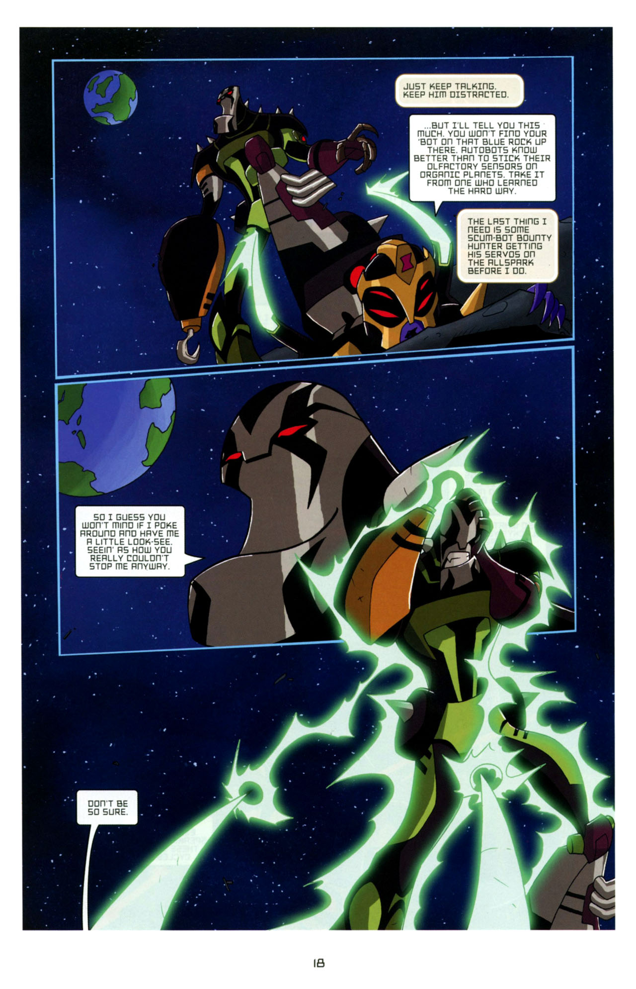 Read online Transformers Animated: The Arrival comic -  Issue #4 - 21