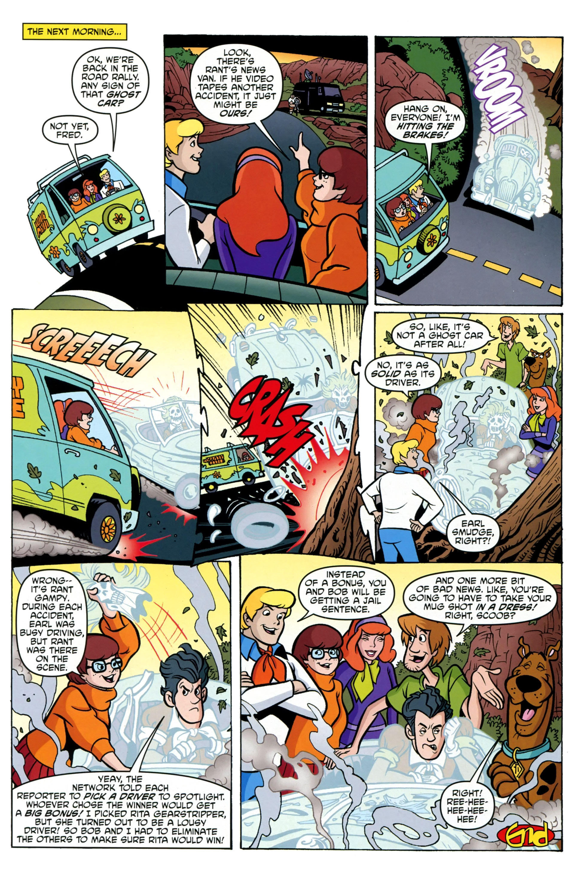 Read online Scooby-Doo: Where Are You? comic -  Issue #36 - 25