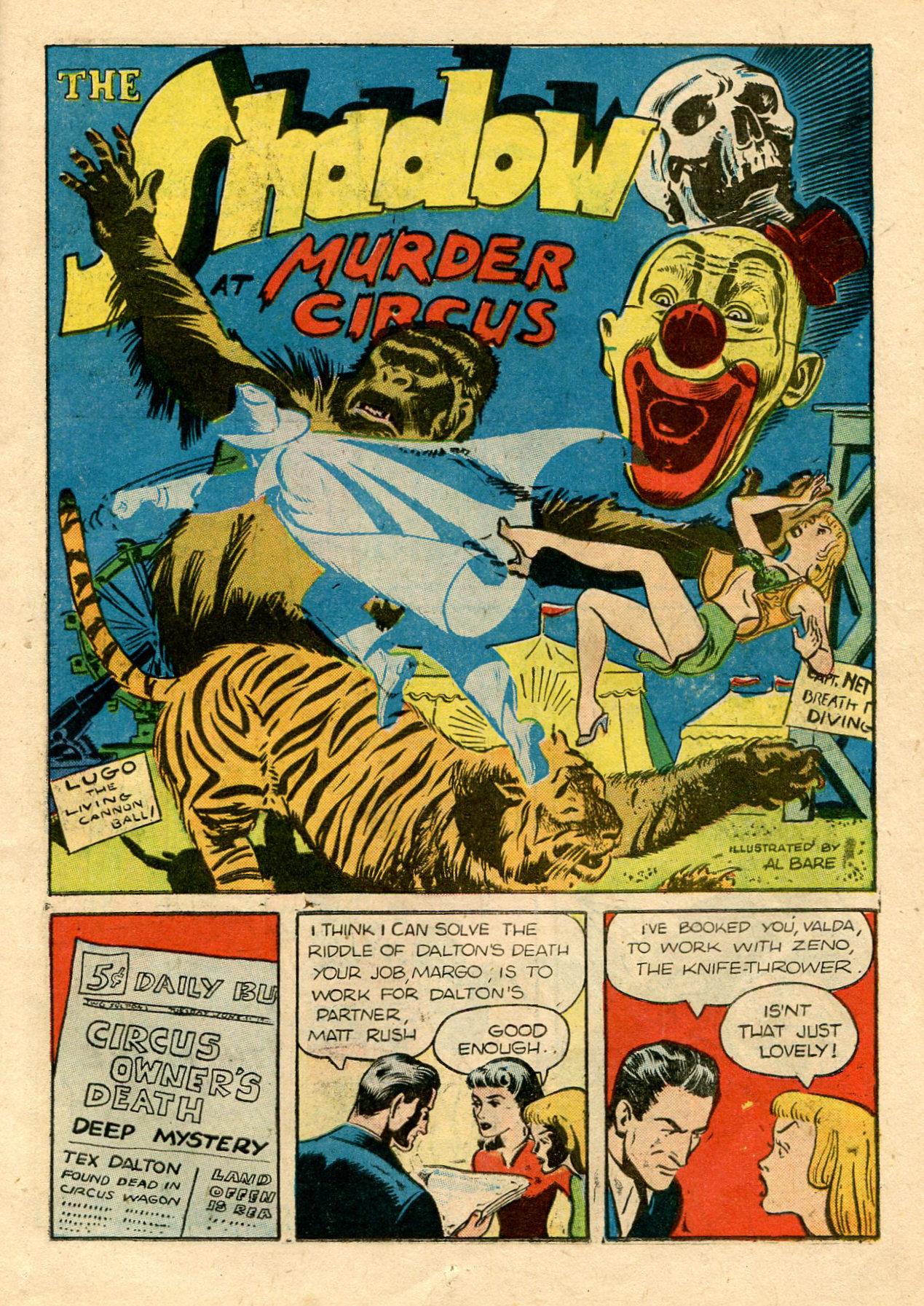 Read online Shadow Comics comic -  Issue #33 - 19