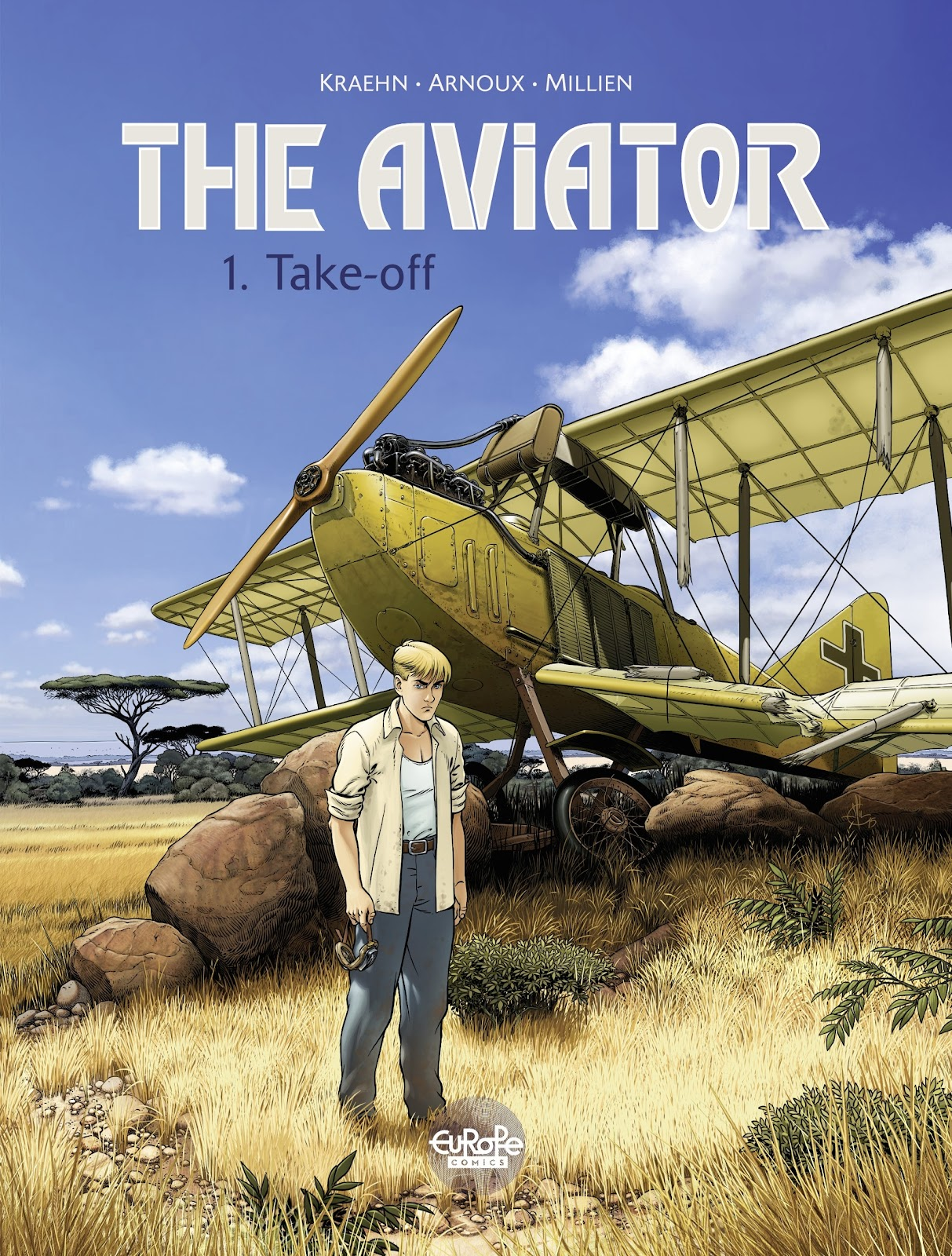 The Aviator issue 1 - Page 1