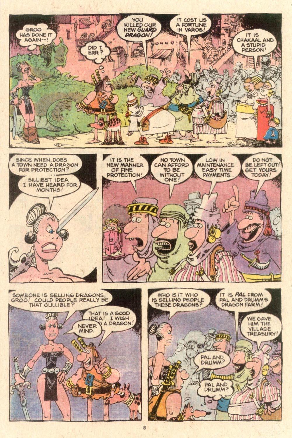 Read online Sergio Aragonés Groo the Wanderer comic -  Issue #53 - 8