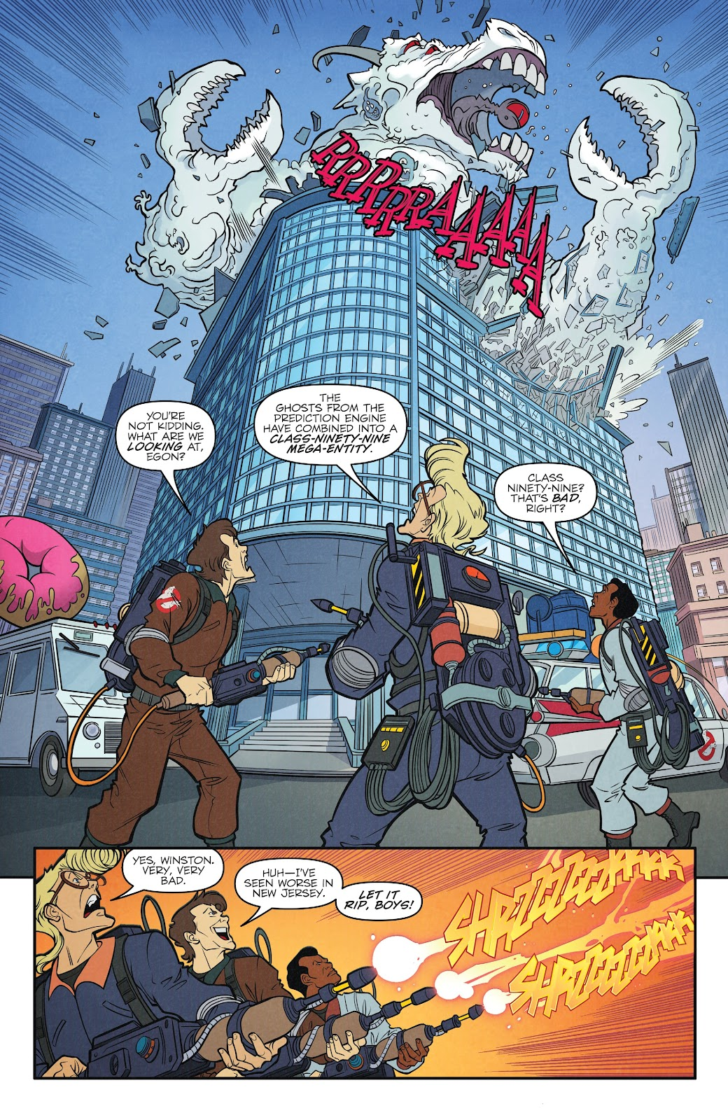 Read online Ghostbusters 35th Anniversary: The Real Ghostbusters comic -  Issue # Full - 20