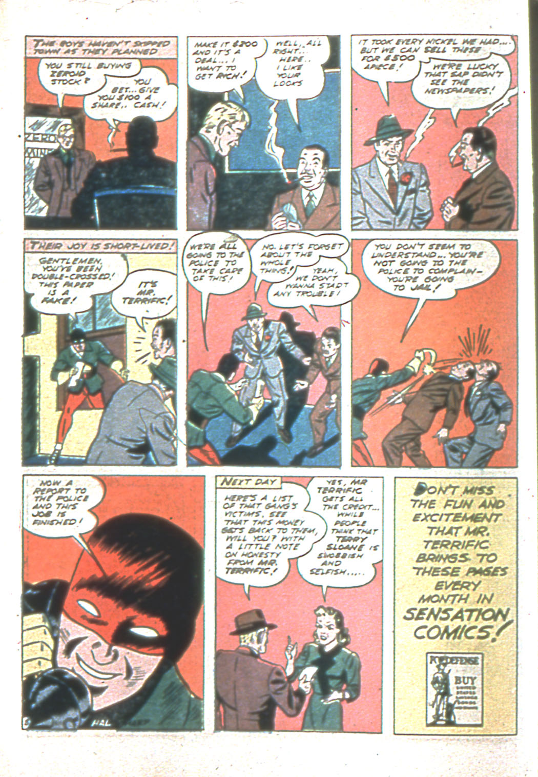 Read online Sensation (Mystery) Comics comic -  Issue #6 - 32