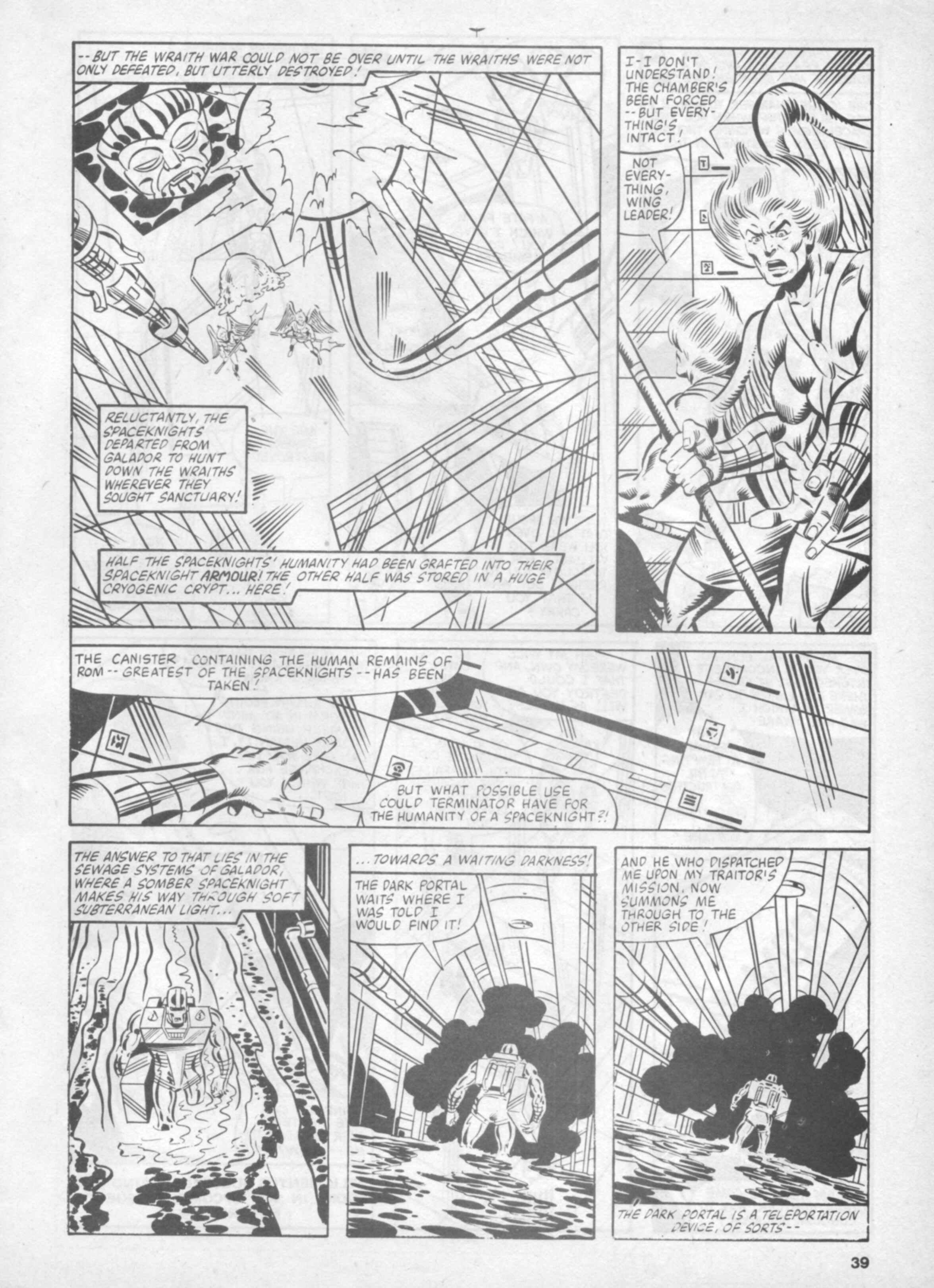 Read online Future Tense comic -  Issue #37 - 39