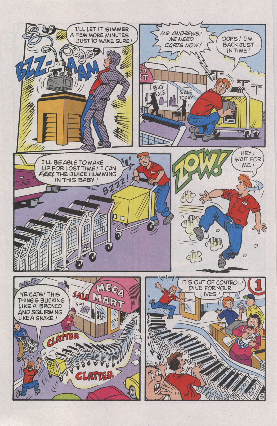 Read online Archie (1960) comic -  Issue #539 - 16