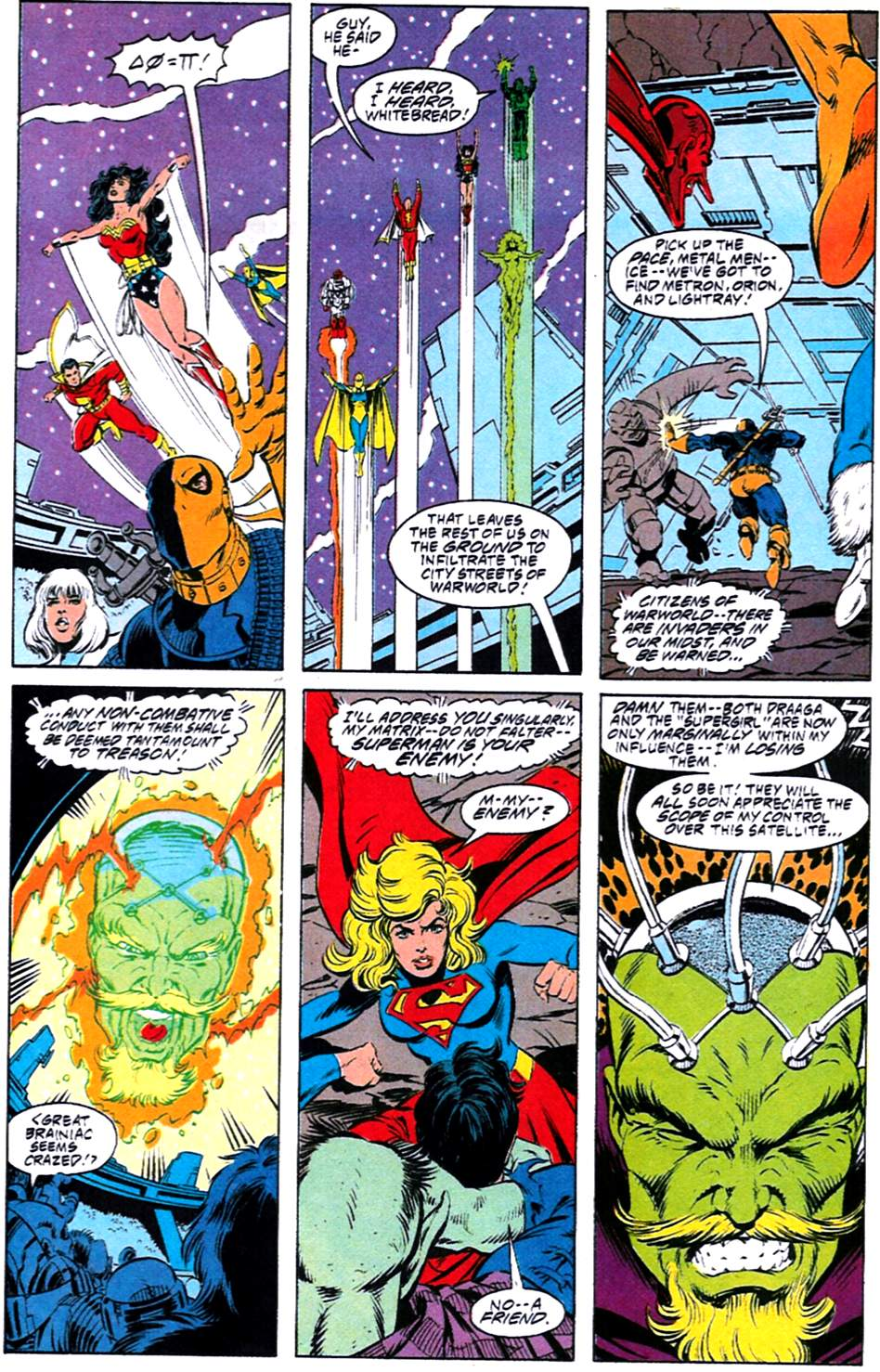 Read online Adventures of Superman (1987) comic -  Issue #488 - 21