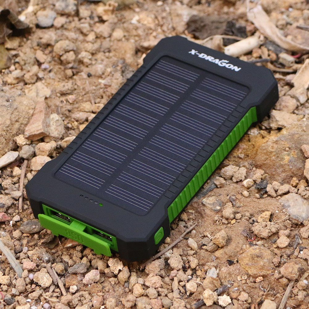 Battery Pack with Solar Charging