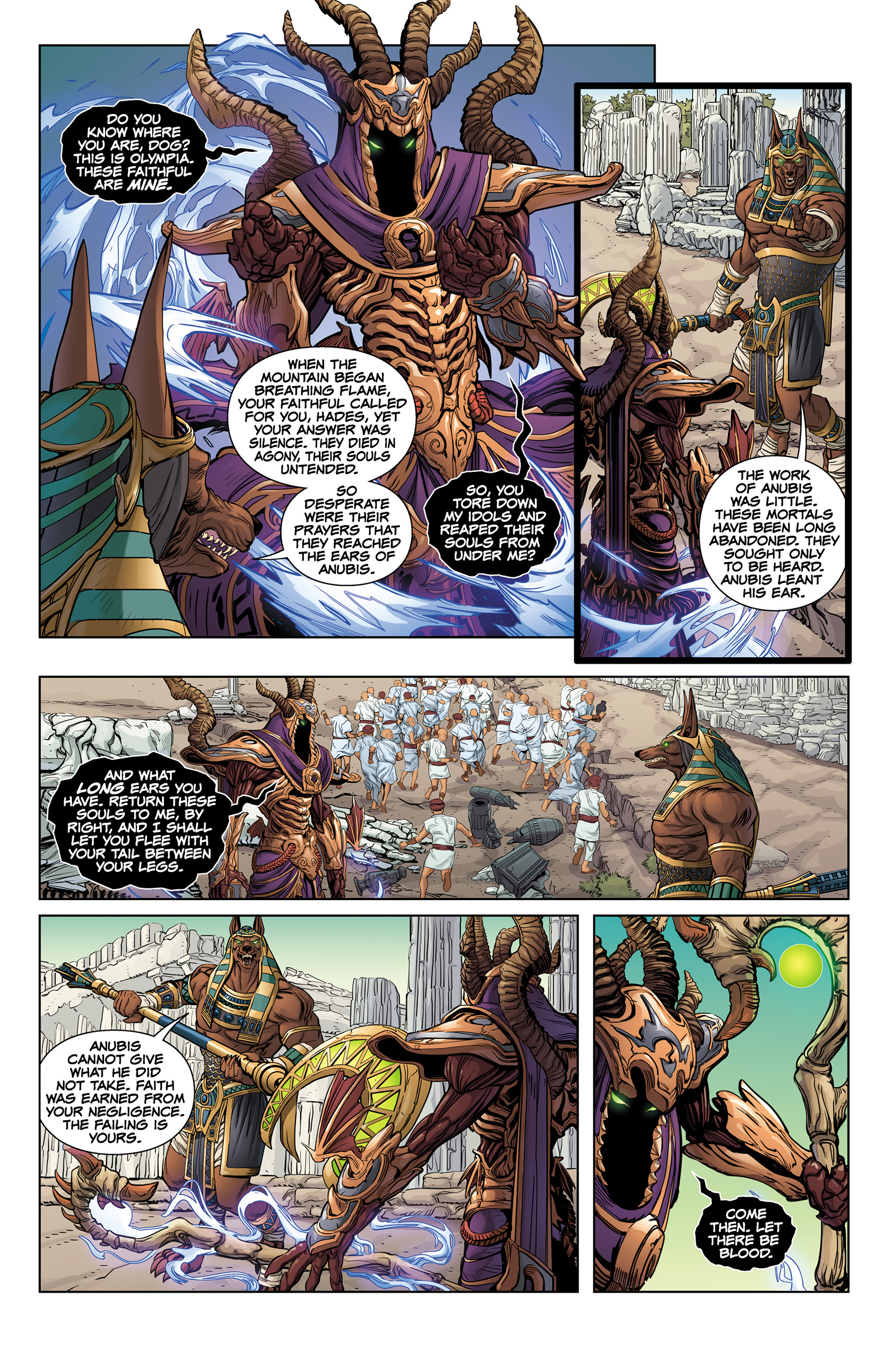 Read online SMITE: The Pantheon War comic -  Issue #1 - 7