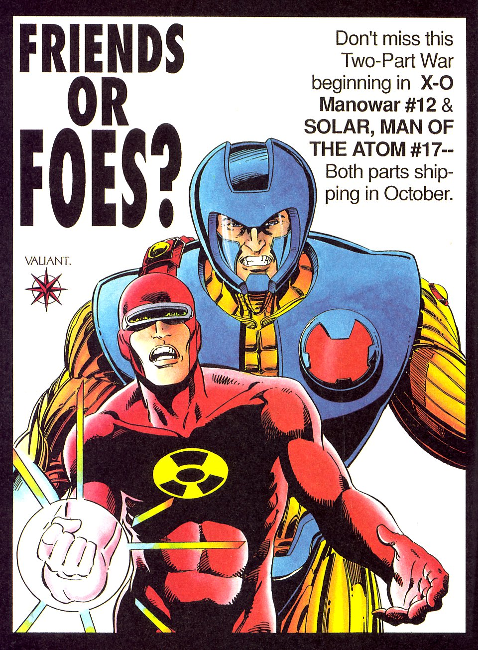 Read online Solar, Man of the Atom comic -  Issue #17 - 33