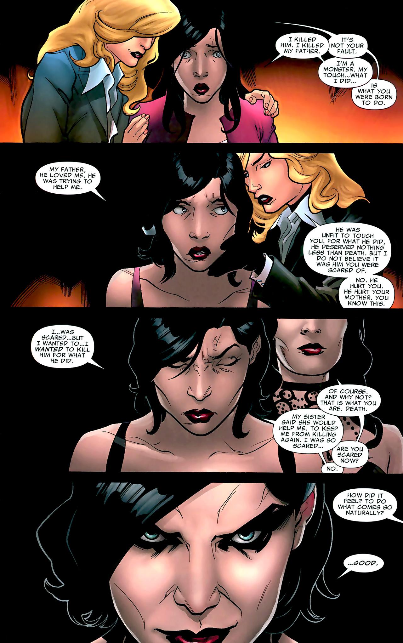 Read online X Necrosha: The Gathering comic -  Issue # Full - 33