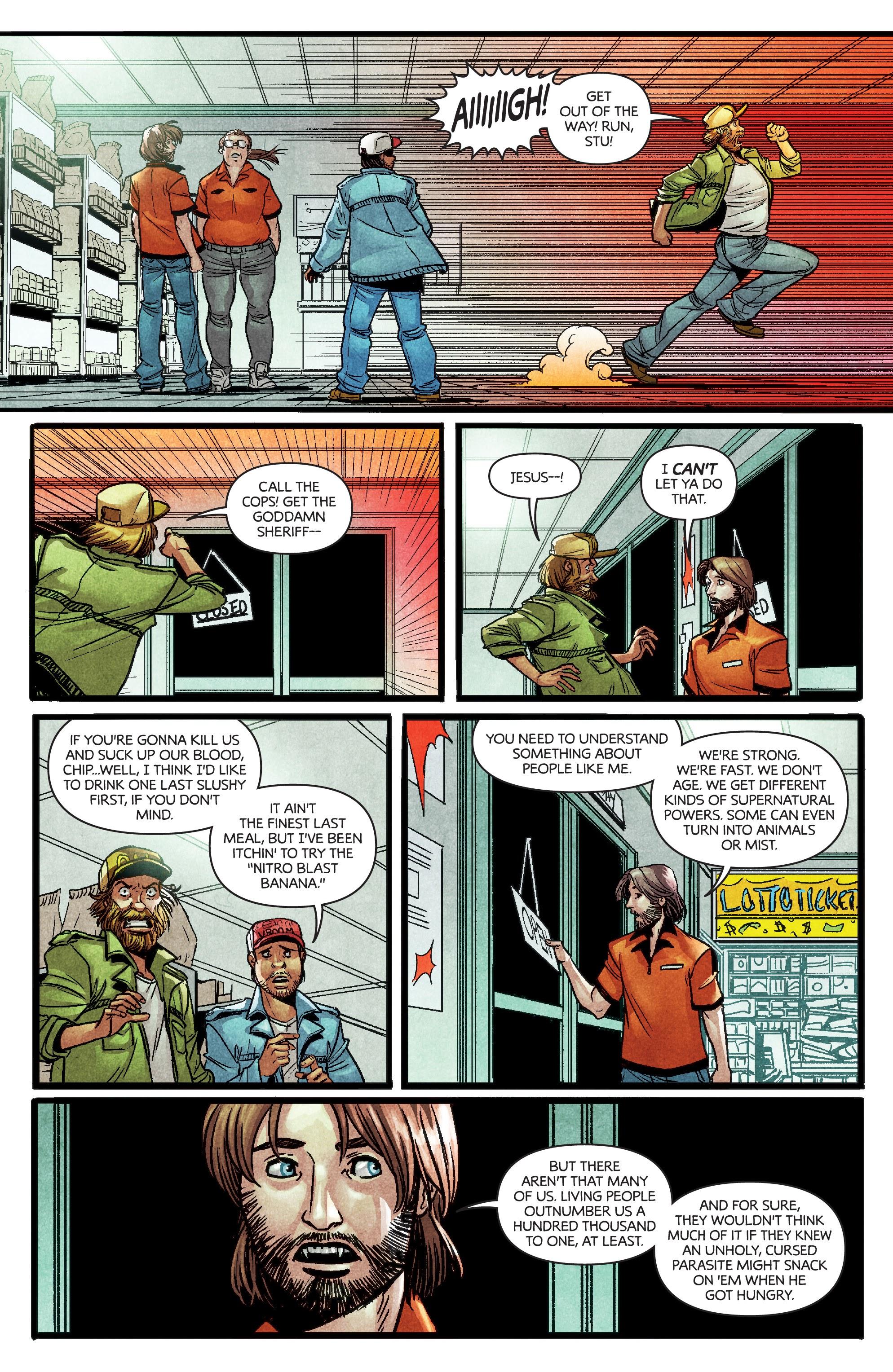 Read online Dark Red comic -  Issue #4 - 8