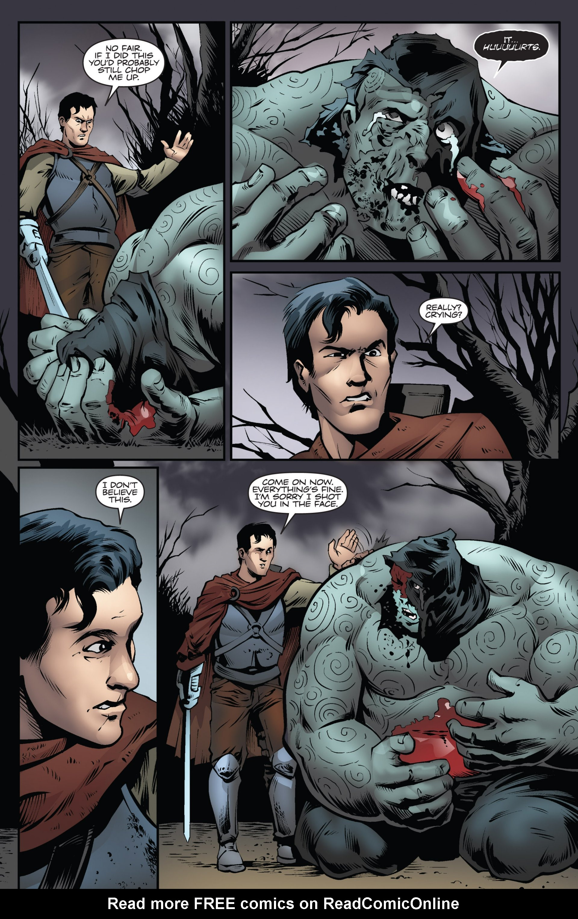 Read online Ash and the Army of Darkness comic -  Issue #6 - 22